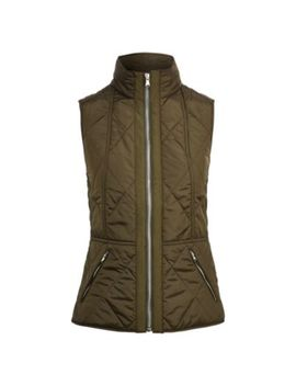 Full Zip Mockneck Vest by Ralph Lauren