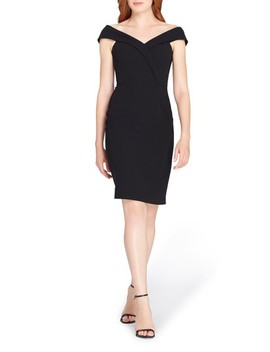 Portrait Collar Sheath Dress by Tahari