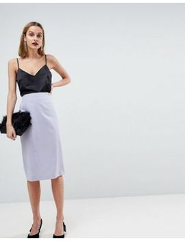 Asos Design Mix & Match Pencil Skirt by Asos Collection