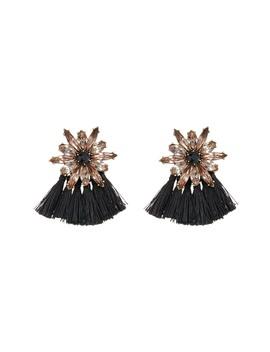 Crystal Floral Fringe Stud Earrings by Baublebar