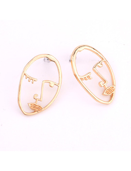 Face Hand Drop Earring Set Fashion Trendy Jewelry Gift E0010 by Just Do My Best