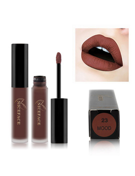 26 Colors Waterproof Liquid Matte Lipstick Lip Stick Cosmetics Long Lasting Velvet Lipgloss Matte Lip Gloss Tint Makeup Beauty by Warm Family