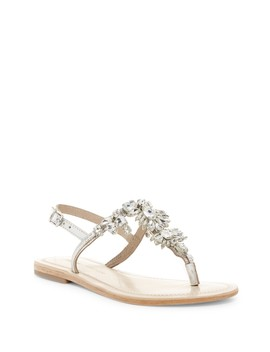 Bermuda Embellished Thong Sandal by Lauren Lorraine