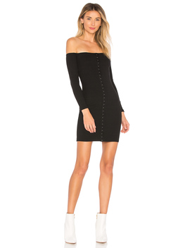 Kiley Hook And Eye Bodycon by By The Way.