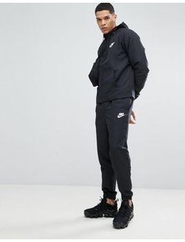 Nike Woven Tracksuit Set In Black 861772 013 by Nike