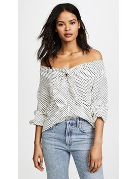Polka Dot Blouse by Re:Named