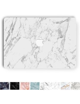 Koru Premium White Marble Vinyl Decal Skin Sticker Case Cover For Macbook Air 13 Inch (Models A1369 And A1466) by Koru ®