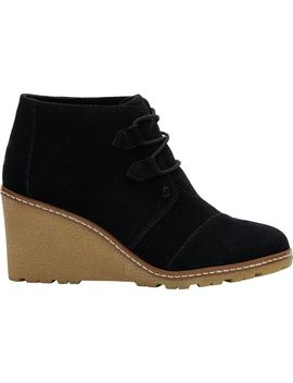 Desert Wedge Boot   Women's by Toms