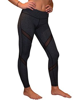 Yoggir Mesh Yoga Pants Women's Workout Leggings By by Yoggir