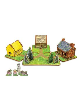 The Three Little Pigs Toy House by Uncommon Goods