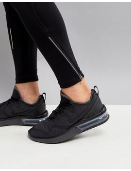 Nike Running Air Max Fury Trainers In Black Aa5739 002 by Nike