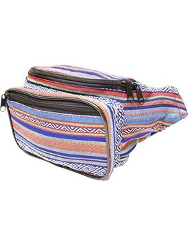 So Journer Festival Fanny Pack   Boho, Hippy, Eco, Woven, Cotton & Tribal Poly Styles by So Journer Bags
