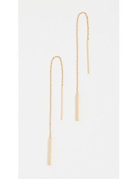 Delicate Threader Earrings by Madewell