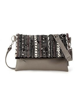 Scrappy Upcycled Foldover Clutch by Uncommon Goods