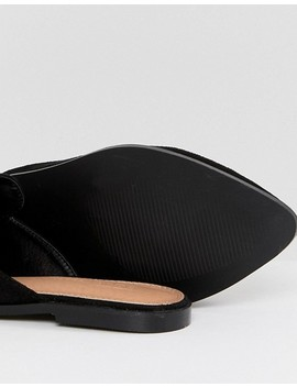 Asos Mouse Wide Fit Pointed Mules by Asos Collection