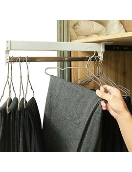 Extendable Closet Valet Rod Retractable Pants Rack Ainger(13.7 Inches) by A Inger