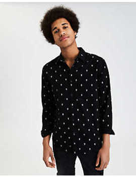 Ae Classic Poplin Shirt by American Eagle Outfitters