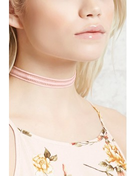 Sheer Striped Choker by Forever 21