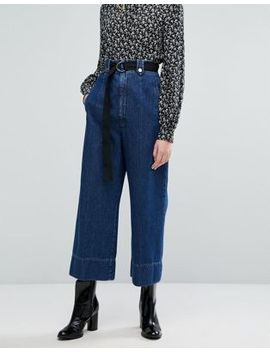 Sportmax Code Accorta Denim Pants by Sportmax Code