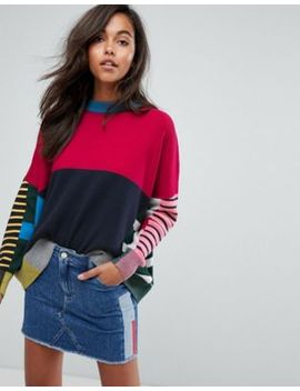 Tommy Jeans Multi Stripe Knitted Jumper by Tommy Jeans Capsule