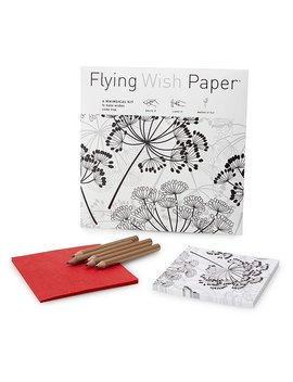 Dandelion Flying Wish Paper by Uncommon Goods