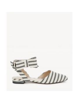 Pollie   Slingback Bow Flat by Sole Society