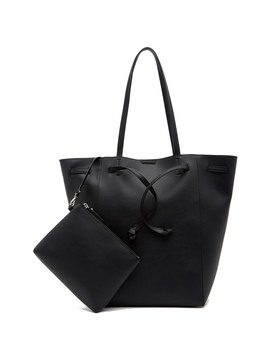 Unlined Drawstring Tote Bag & Pouch by French Connection