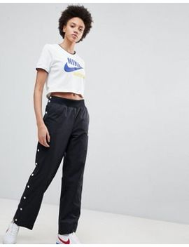 Nike Archive Popper Track Pants In Black by Nike