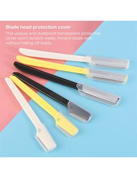 6 Pcs Professional Eyebrow Razor Shaver Personal Facial Hair Groomer Remover For Women Ladies Mini Makeup Knife Shaper Shaver by Ruimio Beauty Tool Store