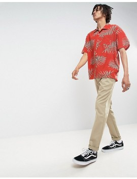 Brixton Print Shirt In Relaxed Fit by Brixton