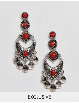 Sacred Hawk Stone Drop Earrings by Sacred Hawk