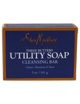 Three Butters Utility Soap Cleanse Moisturize & Shine by Shea Moisture