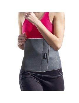 Innoka Fat Burning Waist Trimmer Gym Running Exercise Wrap Belt Shapewear Sweat Weight Loss Body Shaper   Grey by Innoka
