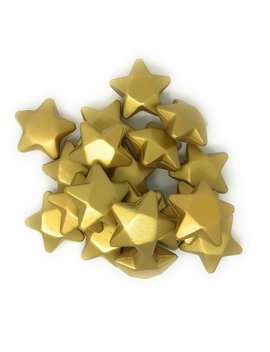 "20 Bulk 3"" Gold Star Award Stress Relievers   Perfect Office Awards, Student Prizes, Or Camp Trophies by Sea View Treasures"