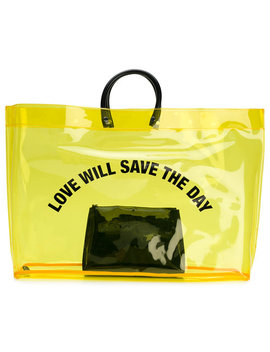 Love Will Save The Day Shopper by Dsquared2