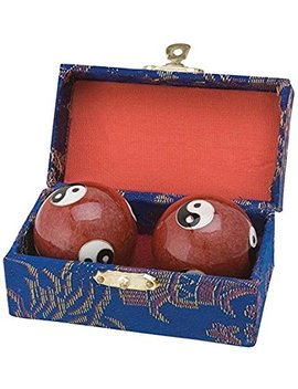 Japan Bargain Chinese Health Stress Relieve Hand Exercise Baoding Balls by Japan Bargain