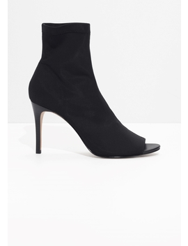 Open Toe Sock Pump by & Other Stories