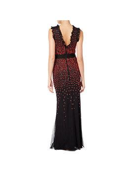 Raishma Scarlet Gown, Black by Raishma