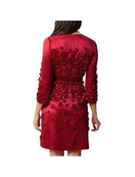 Hobbs Lavinia Dress, Red by Hobbs
