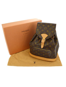 Authentic Louis Vuitton Montsouris Mm Backpack Bag Monogram Purse M51136 A37072 by Louis Vuitton