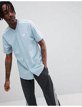 Adidas Originals Nova Retro Soccer T Shirt In Blue Ce4804 by Adidas Originals