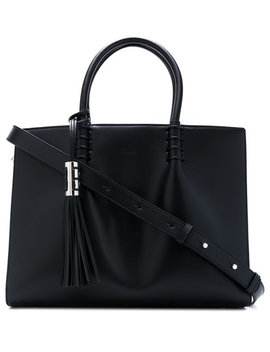 Tassel Detail Tote by Tod's