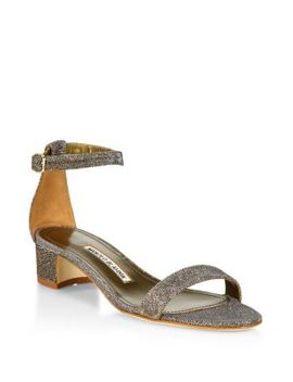 Chaflahi Ankle Strap Sandals by Manolo Blahnik