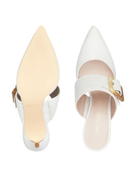 Mariterase Pointy Toe Mules by Nine West