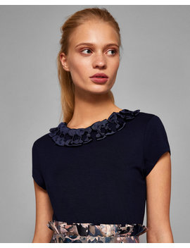 Bow Trim T Shirt by Ted Baker