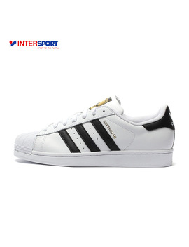 Intersport Original New Arrival Adidas Official Superstar Classics Unisex Men's And Women's Skateboarding Shoes Sneakers by Intersport Online Store