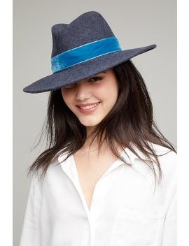 Amina Felt Fedora by Anthropologie