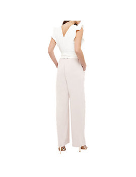 Phase Eight Victoriana Jumpsuit, Cameo/Ivory by Phase Eight