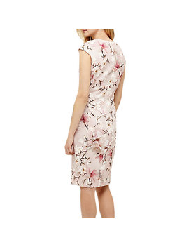 Phase Eight Odette Floral Dress, Rose Pink by Phase Eight