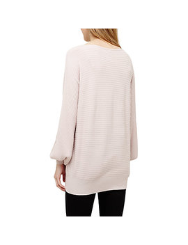 Phase Eight Bettine Balloon Sleeve Jumper, Soft Pink by Phase Eight